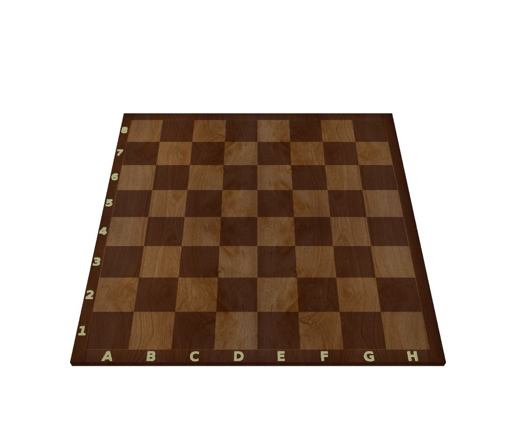 The rules of chess take place on the chessboard.