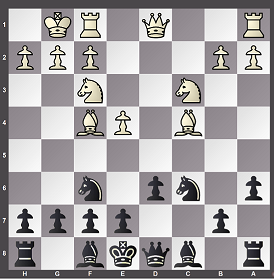 Smith Morra Gambit with 8. Bf4!? and the resulting computer chess analysis using Stockfish was quite enlightening.