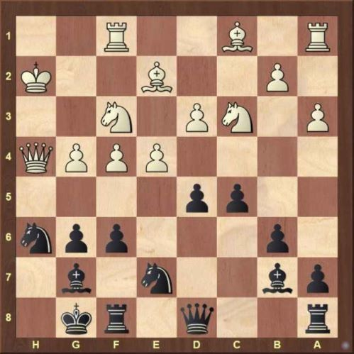 defensive chess after 19...Kf7