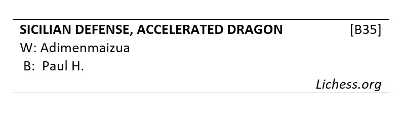 Game#55 - A Battle in the Accelerated Dragon